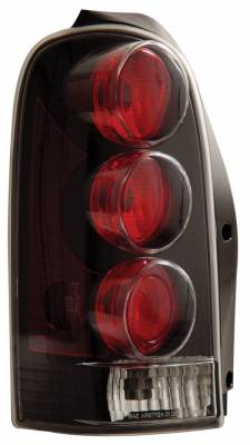 Headlights & Tail Lights - Tail Lights - Anzo - Chevrolet Venture Anzo Taillights - Black - 221017