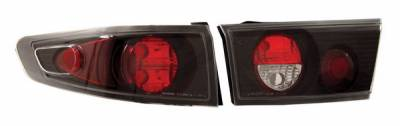 Headlights & Tail Lights - Tail Lights - Anzo - Honda Accord 4DR Anzo Taillights - Black - 221030