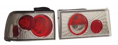 Headlights & Tail Lights - Tail Lights - Anzo - Honda Accord Anzo Taillights - Chrome - 221031