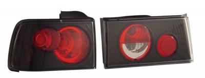 Headlights & Tail Lights - Tail Lights - Anzo - Honda Accord Anzo Taillights - Black - 221033
