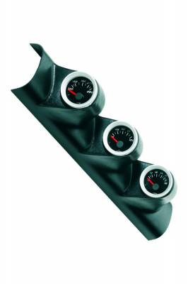 Car Interior - Gauges - Bully Dog - GMC Sierra Bully Dog Triple Gauge Mount - Overhead Rear View Mirror - Paintable - 33501