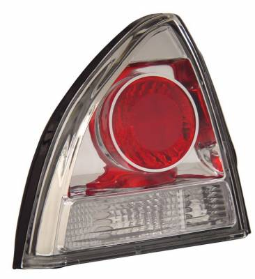 Headlights & Tail Lights - Tail Lights - Anzo - Honda Prelude Anzo Taillights - Chrome - 221069
