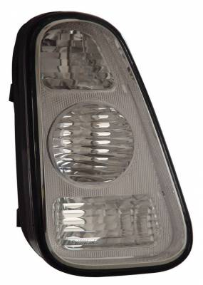 Headlights & Tail Lights - Tail Lights - Anzo - Mini Anzo Taillights - Silver - 221079