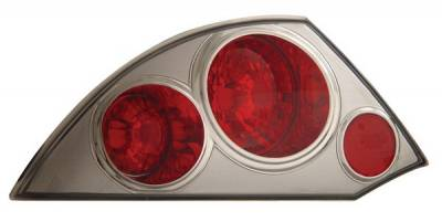 Headlights & Tail Lights - Tail Lights - Anzo - Mitsubishi Eclipse Anzo Taillights - Chrome - 221080