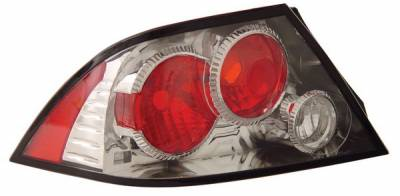 Headlights & Tail Lights - Tail Lights - Anzo - Mitsubishi Lancer Anzo Taillights - Chrome - 221085