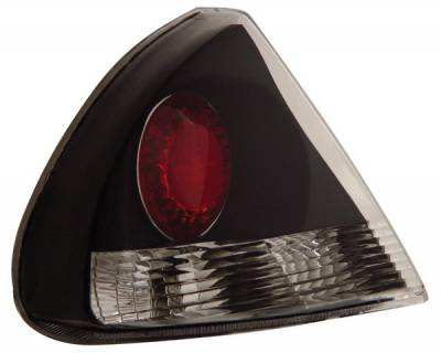Headlights & Tail Lights - Tail Lights - Anzo - Mitsubishi Mirage Anzo Taillights - Black - 221088