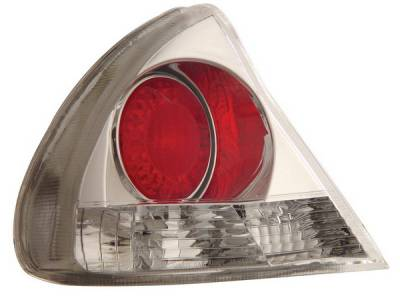 Headlights & Tail Lights - Tail Lights - Anzo - Mitsubishi Mirage Anzo Taillights - Chrome - 221089