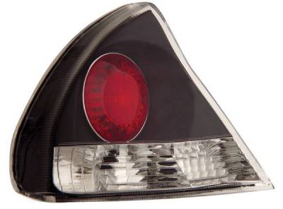 Headlights & Tail Lights - Tail Lights - Anzo - Mitsubishi Mirage Anzo Taillights - Black - 221090