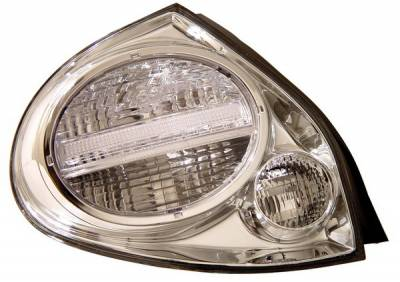 Headlights & Tail Lights - Tail Lights - Anzo - Nissan Maxima Anzo Taillights - Chrome - 221096