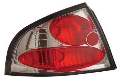 Headlights & Tail Lights - Tail Lights - Anzo - Nissan Sentra Anzo Taillights - Chrome - 221098