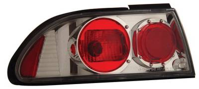 Headlights & Tail Lights - Tail Lights - Anzo - Nissan Sentra Anzo Taillights - Chrome - 221100