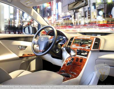 Car Interior - Interior Trim Kits - Sherwood - Toyota Venza Sherwood 2D Flat Dash Kit