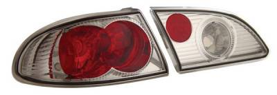 Headlights & Tail Lights - Tail Lights - Anzo - Toyota Corolla Anzo Taillights - Chrome - 221114