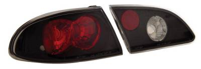 Headlights & Tail Lights - Tail Lights - Anzo - Toyota Corolla Anzo Taillights - Black - 221115