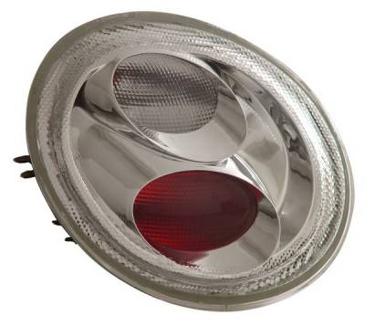 Headlights & Tail Lights - Tail Lights - Anzo - Volkswagen Beetle Anzo Taillights - Chrome - 221118