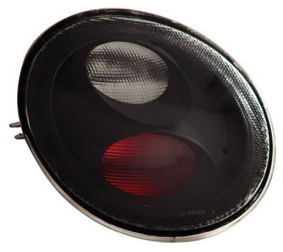 Headlights & Tail Lights - Tail Lights - Anzo - Volkswagen Beetle Anzo Taillights - Black - 221119