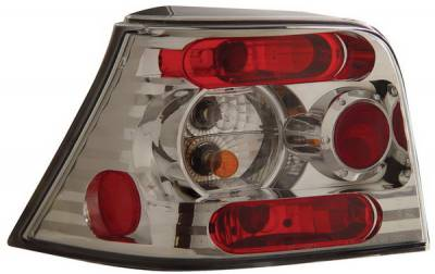 Headlights & Tail Lights - Tail Lights - Anzo - Volkswagen Golf Anzo Taillights - Chrome - 221122