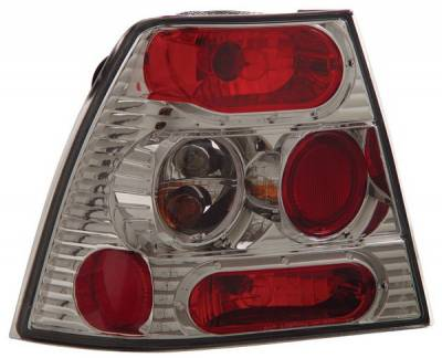 Headlights & Tail Lights - Tail Lights - Anzo - Volkswagen Jetta Anzo Taillights - Chrome - 221125