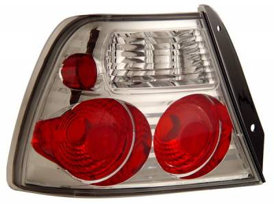 Headlights & Tail Lights - Tail Lights - Anzo - Hyundai Accent Anzo Taillights - Chrome - 221127