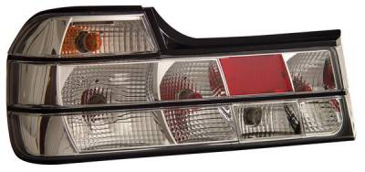 Headlights & Tail Lights - Tail Lights - Anzo - BMW 7 Series Anzo Taillights - Chrome - 221129