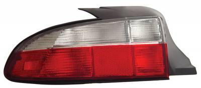 Headlights & Tail Lights - Tail Lights - Anzo - BMW 3 Series Anzo Taillights - Red & Clear - 221131
