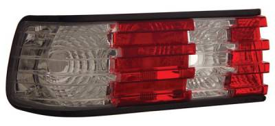 Headlights & Tail Lights - Tail Lights - Anzo - Mercedes-Benz S Class Anzo Taillights - Red & Clear - 221132