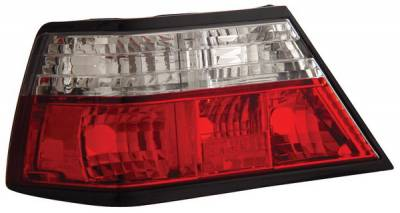 Headlights & Tail Lights - Tail Lights - Anzo - Mercedes-Benz E Class Anzo Taillights - Red & Clear - 221159