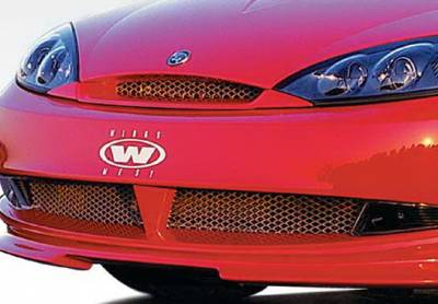 Grilles - Custom Fit Grilles - Wings West - Mercury Cougar Wings West Front Grille Insert - 890300