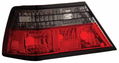 Headlights & Tail Lights - Tail Lights - Anzo - Mercedes-Benz E Class Anzo Taillights - Red & Smoke - 221160