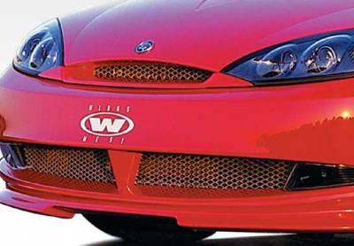 Grilles - Custom Fit Grilles - VIS Racing - Mercury Cougar VIS Racing Front Grille Insert Optional - 890300