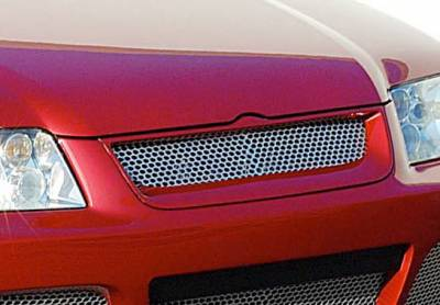 Grilles - Custom Fit Grilles - Wings West - Volkswagen Jetta Wings West J-Spec Front Grille - 890783