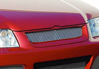 Grilles - Custom Fit Grilles - VIS Racing - Volkswagen Jetta VIS Racing J-Spec Front Grille Optional - 890783
