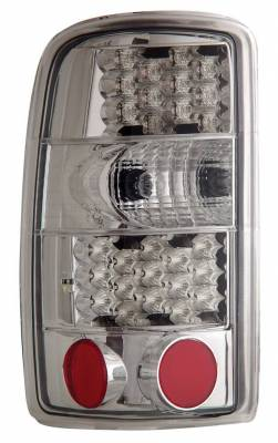 Headlights & Tail Lights - Led Tail Lights - Anzo - GMC Yukon Anzo LED Taillights - Chrome - 311002