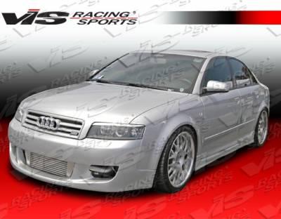 Grilles - Custom Fit Grilles - VIS Racing - Audi A4 VIS Racing A Tech Front Grille - 02AUA44DATH-015