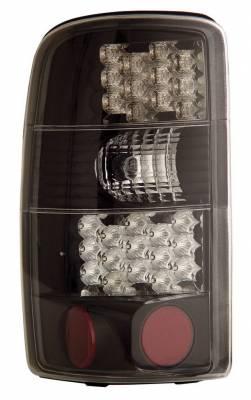 Headlights & Tail Lights - Led Tail Lights - Anzo - GMC Yukon Anzo LED Taillights - Black - 311003
