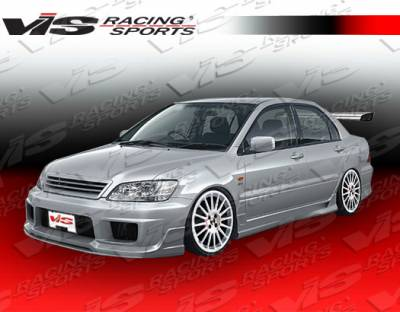Grilles - Custom Fit Grilles - VIS Racing - Mitsubishi Lancer VIS Racing K Speed Grille - 02MTLAN4DKSP-015