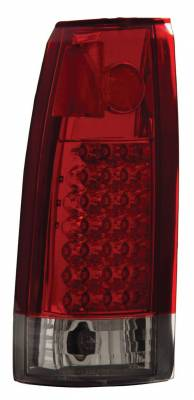 Headlights & Tail Lights - Led Tail Lights - Anzo - Cadillac Escalade Anzo LED Taillights - Red & Clear - 311004