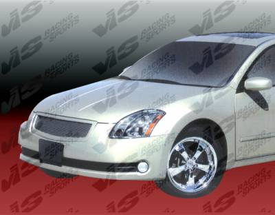 Grilles - Custom Fit Grilles - VIS Racing - Nissan Maxima VIS Racing Custom Grille - Polyurethane - 04NSMAX4DCUS-015P