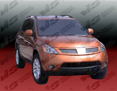 Grilles - Custom Fit Grilles - VIS Racing - Nissan Murano VIS Racing Grille Replacement - Polyurethane - 04NSMUR4DCUS-015P