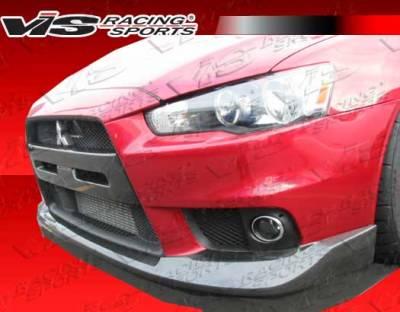 Grilles - Custom Fit Grilles - VIS Racing - Mitsubishi Lancer VIS Racing OEM Grille Insert - 08MTEV104DOE-015C