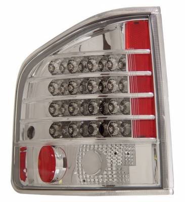 Headlights & Tail Lights - LED Tail Lights - Anzo - Chevrolet S10 Anzo LED Taillights - Chrome - 311014