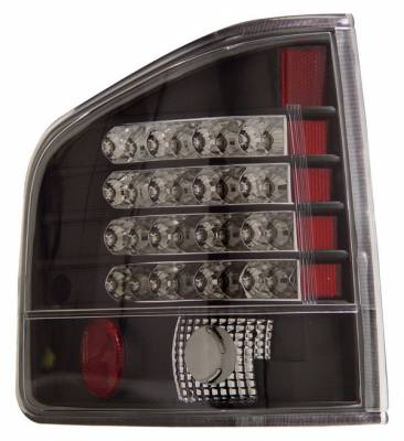 Headlights & Tail Lights - LED Tail Lights - Anzo - Chevrolet S10 Anzo LED Taillights - Black - 311015