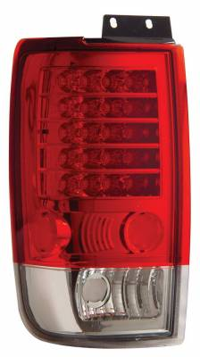 Headlights & Tail Lights - Led Tail Lights - Anzo - Ford Expedition Anzo LED Taillights - Red & Clear - 311019