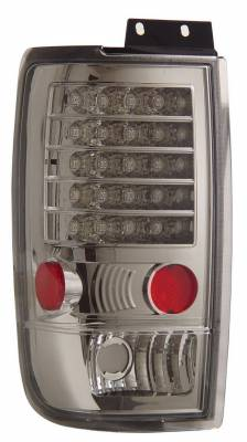 Headlights & Tail Lights - Led Tail Lights - Anzo - Ford Expedition Anzo LED Taillights - Chrome - 311020