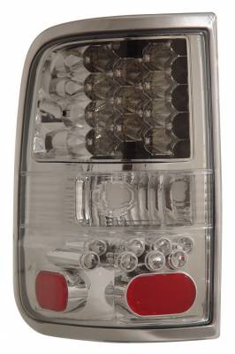Headlights & Tail Lights - Led Tail Lights - Anzo - Ford F150 Anzo LED Taillights - Chrome - 311023