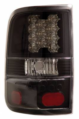 Headlights & Tail Lights - Led Tail Lights - Anzo - Ford F150 Anzo LED Taillights - Black - 311024