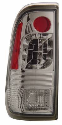 Headlights & Tail Lights - Led Tail Lights - Anzo - Ford F150 Anzo LED Taillights - Chrome - 311026