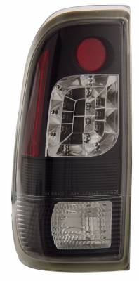Headlights & Tail Lights - Led Tail Lights - Anzo - Ford F150 Anzo LED Taillights - Black - 311027