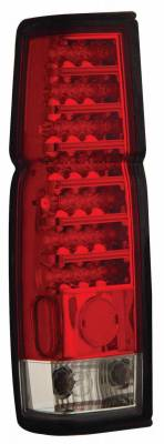 Headlights & Tail Lights - Led Tail Lights - Anzo - Nissan Pickup Anzo LED Taillights - Red & Clear - 311034