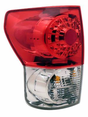 Headlights & Tail Lights - Led Tail Lights - Anzo - Toyota Tundra Anzo LED Taillights - Red & Clear - 311048